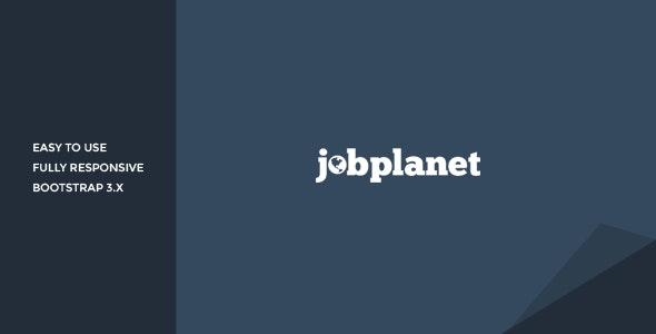 Jobplanet Responsive Job Board HTML Template