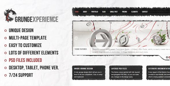 Cracked Templates from ThemeForest