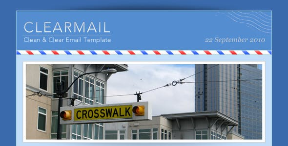 CLEARMAIL - Newsletter Premium Template