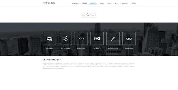Starling | Multipurpose Adobe Muse Template