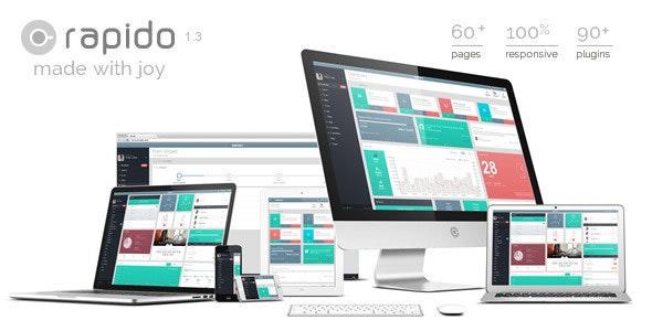 Rapido – Responsive Admin Dashboard Theme - Admin Templates Site Templates
