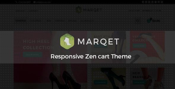MarQet - Responsive Zen cart Theme - Shopping Zen Cart