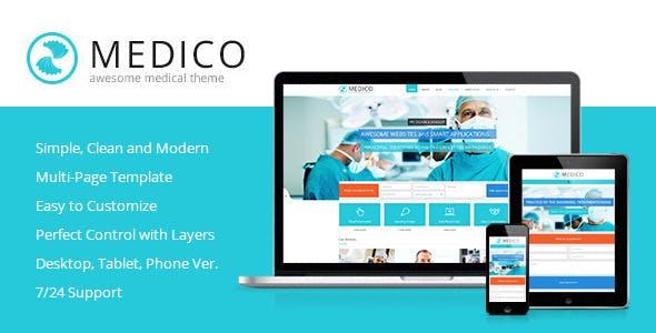 Medico - Medical & Health Muse Template