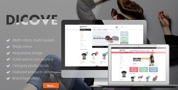 Dicove - Fashion Responsive Magento Theme - Fashion Magento