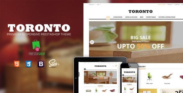 SNS Toronto - Responsive Prestashop Theme - PrestaShop eCommerce