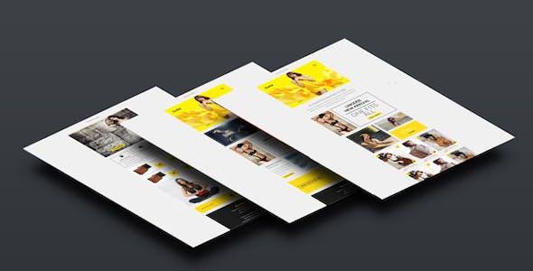 Evolia Email eCommerce Newsletter