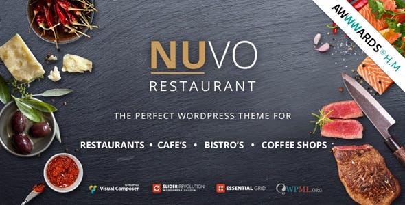 NUVO - Cafe & Restaurant WordPress Theme