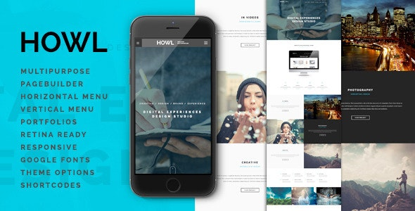 Howl | Multi-Purpose WordPress Theme - Creative WordPress