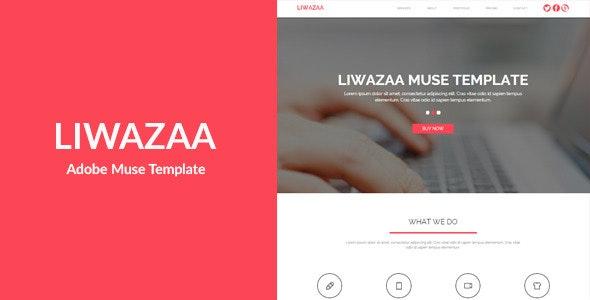 Liwazaa - Multi-purpose Muse Template - Corporate Muse Templates