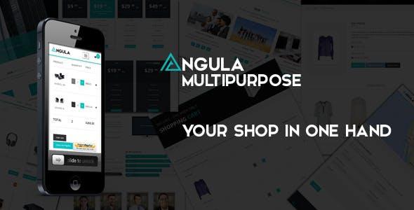 ANGULA - Multipurpose Template