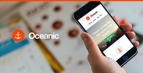 Oceanic - Modular Responsive Email Template - Email Templates Marketing