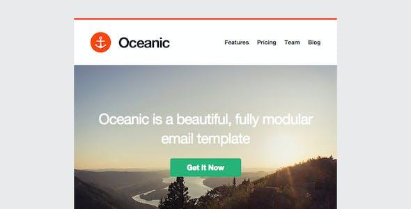 Oceanic - Modular Responsive Email Template