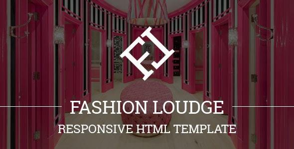 Fashion Loudge - Responsive HTML Template - Shopping Retail