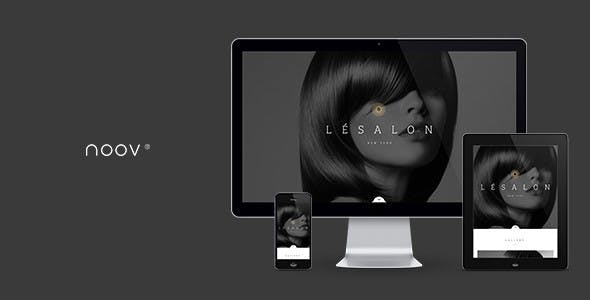 LeSalon Beauty Salon Muse Template