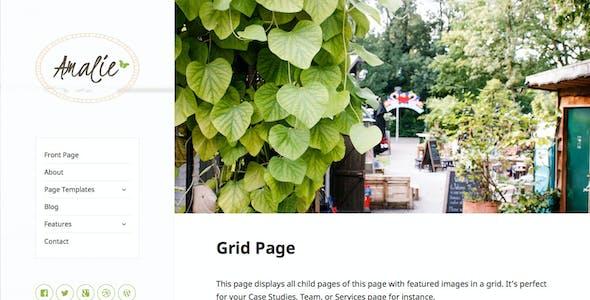 Amalie - Modern Blogging WordPress Theme