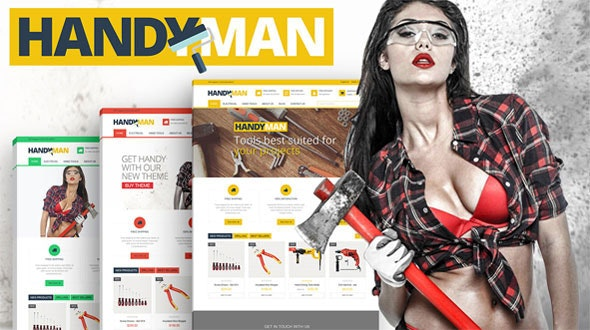 Handyman - PrestaShop Business Construction Theme - Shopping PrestaShop