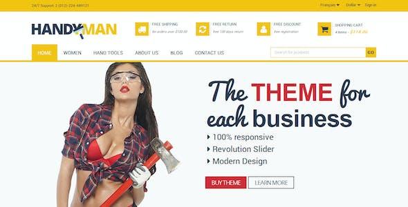 Handyman - PrestaShop Business Construction Theme
