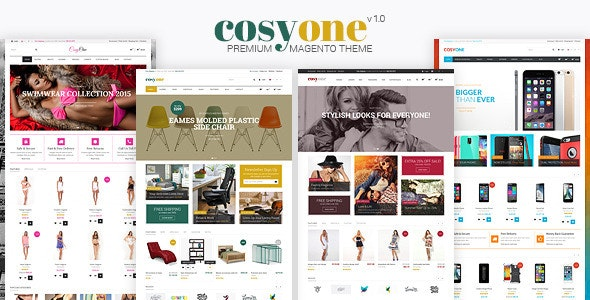 CosyOne - Responsive Magento Themes - Magento eCommerce
