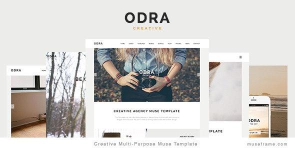 ODRA - Creative Multi-Purpose Muse Template - Creative Muse Templates