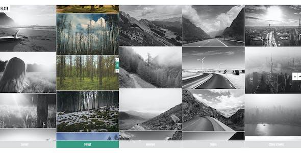 Timelate - Responsive Portfolio & Photography Template
