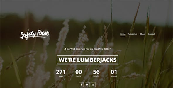 Safety Video Website Templates from ThemeForest