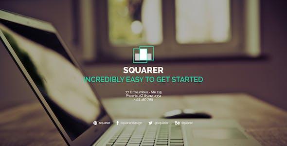 Squarer Agency PSD Template