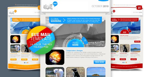 EUE Mail Template