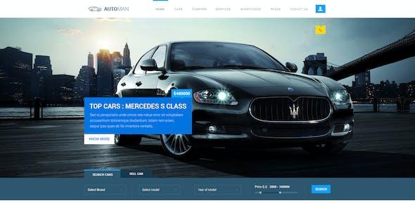 Automan - Advanced Car Dealer PSD Template