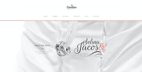 Everline - Wedding Events HTML Template