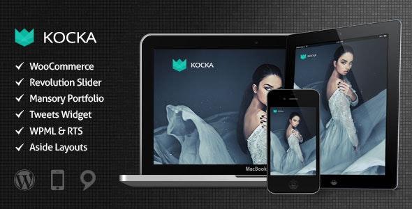 Kocka - Flexible and Powerful WordPress Theme - WooCommerce eCommerce