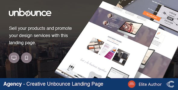 Agency Creative Landing Page