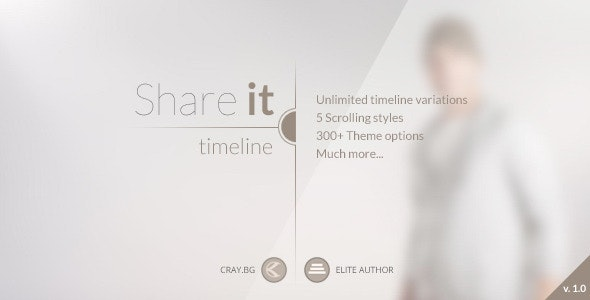 Share It - Timeline WordPress Theme - Creative WordPress