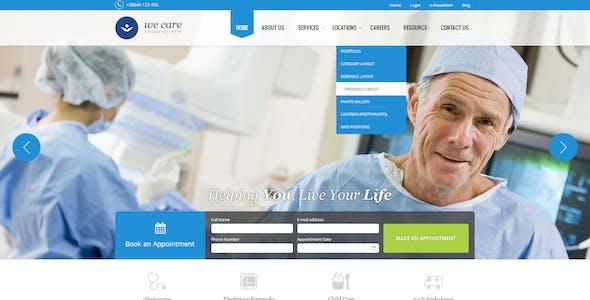 We Care - Premium Medical HTML Template