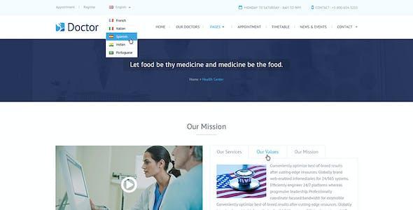 Doctor - Health Clinical PSD Template
