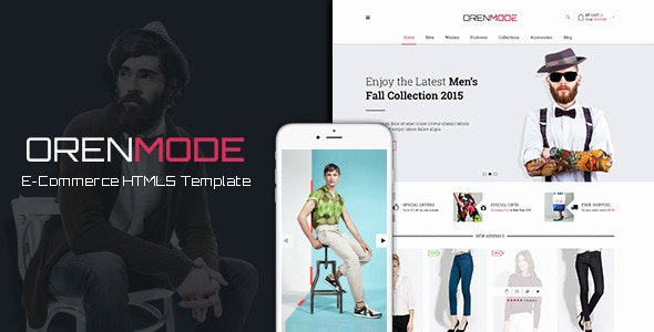 OrenMode - Ecommerce HTML5 Template - Shopping Retail