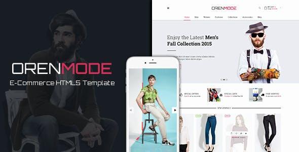 OrenMode - Ecommerce HTML5 Template