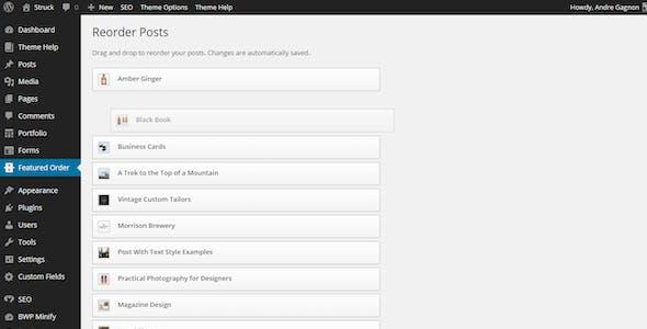 Struck - A Responsive Creative WordPress Theme