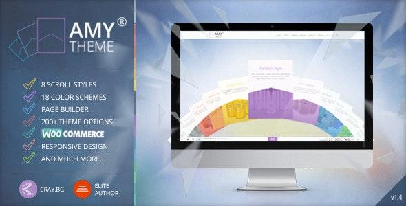 AMY Theme - Creative Multi-Purpose WordPress Theme - Creative WordPress