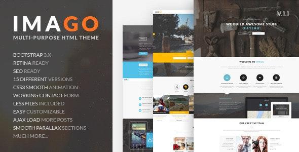 Imago - Multipurpose HTML5 Template - Business Corporate