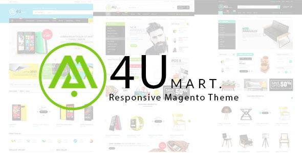 M4U  – Multipurpose Responsive Magento Theme - Shopping Magento