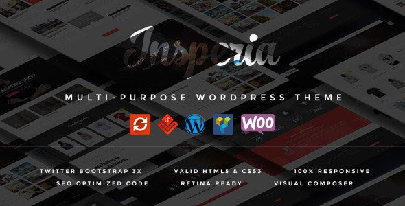 Insperia - A Responsive WordPress Theme - Corporate WordPress