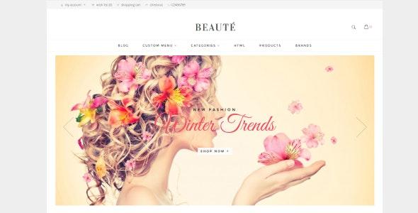 Beaute Opencart Theme - Fashion OpenCart
