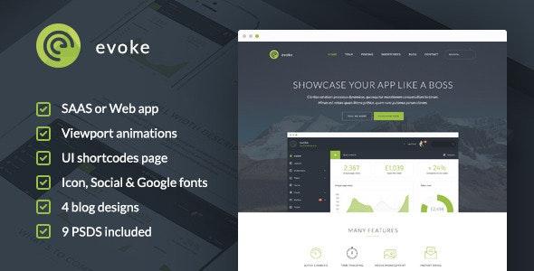 Evoke - HTML Template - Creative Site Templates