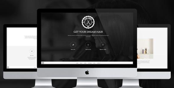 Hair Style - HTML Responsive