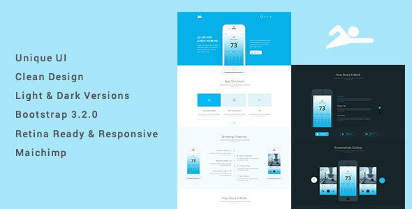 Pat | An App Landing Page Template - Landing Pages Marketing