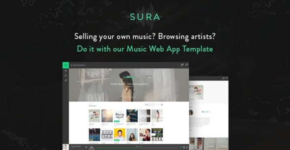 Sura - Music Web App HTML Template - Music and Bands Entertainment