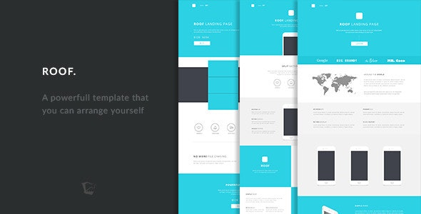 Roof - Responsive Landing Pages Template - Landing Pages Marketing