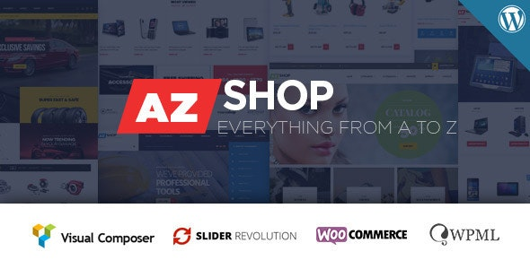AzShop - WooCommerce WordPress Theme - WooCommerce eCommerce