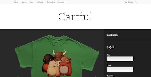 Cartful - Ecommerce WordPress Theme for Cart66