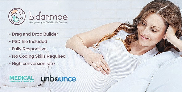 Bidanmoe ChildBirth - Unbounce Landing Page - Unbounce Landing Pages Marketing